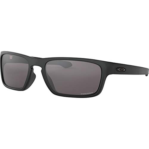 Oakley Men's Sliver Stealth Asian Fit Sunglasses,OS,Matte Black/Prizm ()