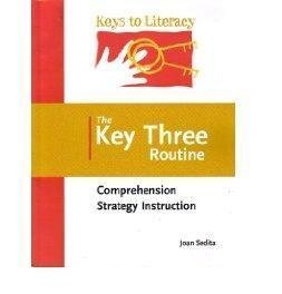 Key Three Routine Comprehension Strategy - Instruction Comprehension Strategy