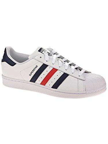 Chaussures Foundation Multicolore Blanco Rojo Marino De Sport Homme Azul Superstar ftwbla Adidas Maruni Rojo 5Eqx1BE
