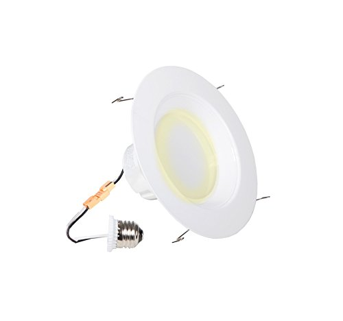 "19 Watt 1200 Lumens 6""-Inch Maxxima Dimmable LED Retrofit Downlight Fixture 2700K Warm"