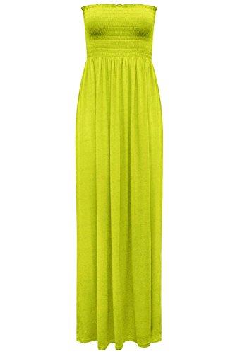 Star Lime Donna Fashion maniche Senza Vestito Verde Hdwva7q