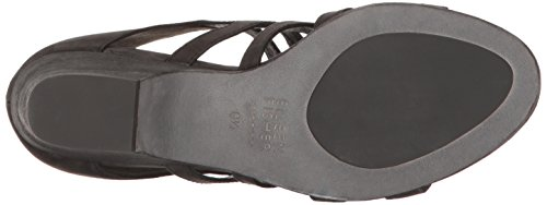 Sandal Fisher Women's Dawson Eileen Heeled Nu Black SXdqXwx