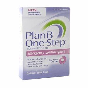 Plan B en une seule étape la contraception d'urgence au lévonorgestrel - 1,5 Mg, 1 Ea