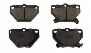 TRW TPC0823 Premium Rear Disc Brake Pad (2006 Pontiac Vibe Reviews)
