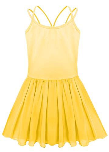 a88c12e28 Yellow Gymnastics Leotard - Trainers4Me