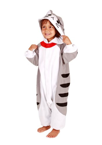 Tabby Cat Kids Kigurumi (2-5 Years)]()
