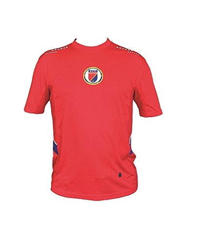 best sneakers 01a37 4dfe1 Haitian Soccer Jersey (Red) Extra Large