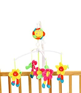 Sunshine Daisy Flower Soft Toy Baby Nursery Cot Crib
