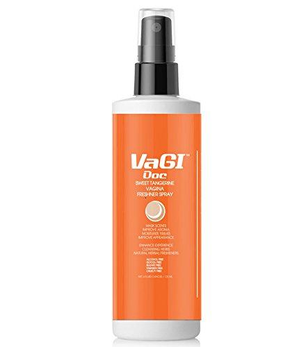 Vagi DocTM Sweet Tangerine Vagina Freshener Spray (Daily Usage, 100% Real Fruit Juice)