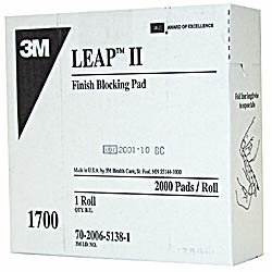 3M1700 Square Leap III Pad 24 mm (roll of 2,000)