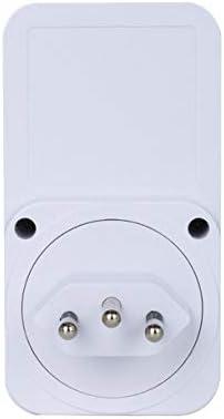 QinKingstore KWE-PMB03-F/KWE-PMB03-B小画面電力計測ソケット電力モニターインテリジェント課金ソケット課金デバイス
