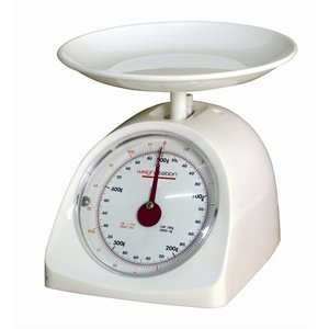 Diet Scale 0.5kg (1.1lb) capacity. Graduation 2gm (0.125 Ounce Scale)