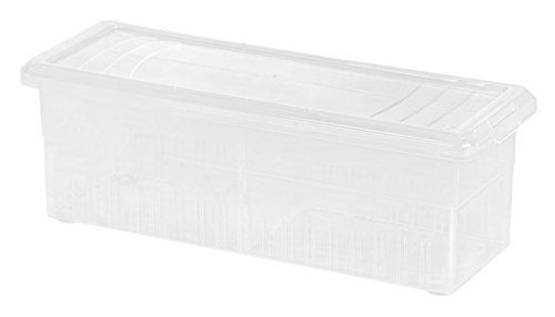 IRIS Ribbon and Craft Organizer, Clear