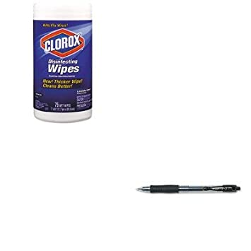 KITCOX01761EAPIL31020 - Kit Valor - Clorox Toallitas Desinfectantes (COX01761EA) y Pilot G2 Gel Ink