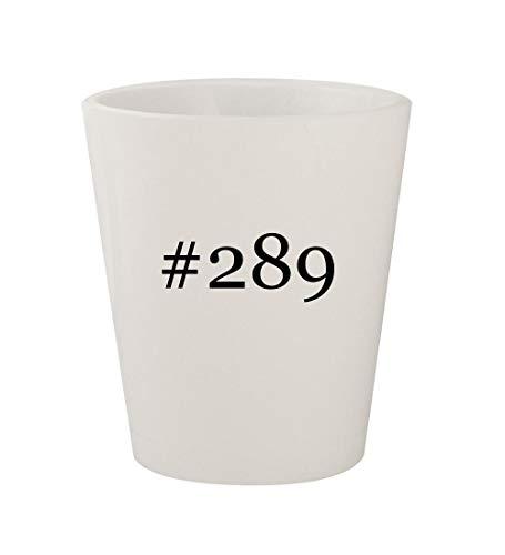 (#289 - Ceramic White Hashtag 1.5oz Shot Glass)