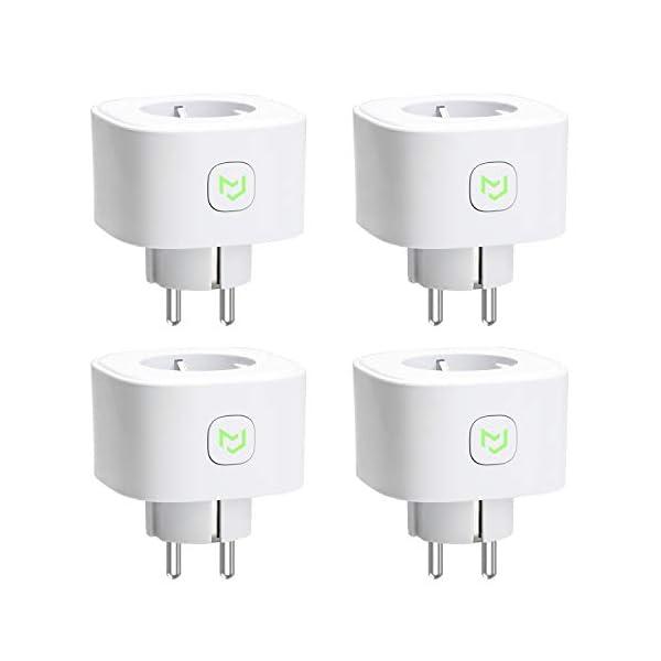 Presa Intelligente Wifi Smart Plug Spina Wireless 16A 3680W, Funzione Timer, Compatible con SmartThings, Alexa, Google… 1 spesavip