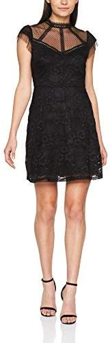 New Look Damen Partykleid Victoriana Lace Skater,