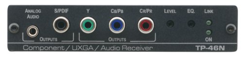 - Kramer Electronics TP-46N Component Video or Computer Graphics Video with Audio over Twisted Pair Receiver