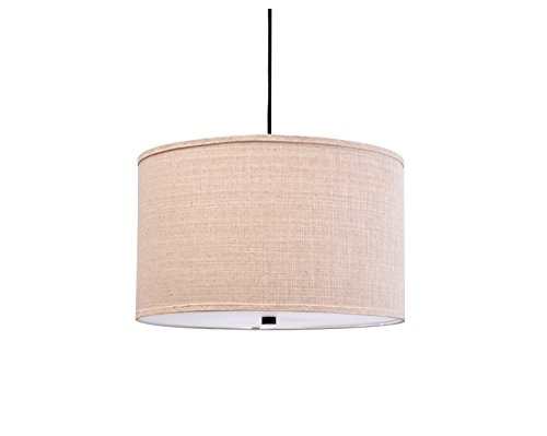 18 Inch Drum Pendant Light in US - 9