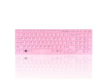 15.5 'Soft Waterproof Dustproof Laptop Desktop Keyboard Protective Film (Pink) for Sony VGP-EB CNK02 15.5' Pink Laptop