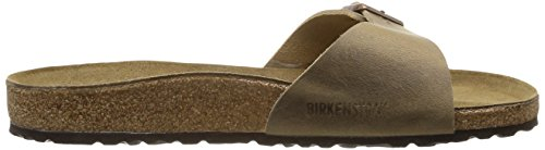 Birkenstock Madrid - Sandalias de cuero unisex Tabacco Brown