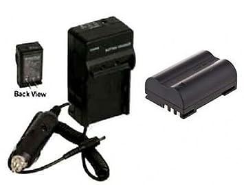 Amazon.com: BLM1 BLM01 batería + cargador para Olympus C ...