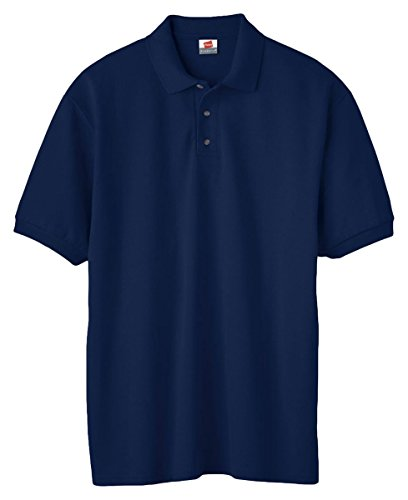 Hanes Men's EcoSmart Blended Jersey Polo