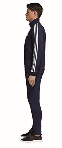Chándal bleu Co Bleu Marine blanc Hombre Ts Marine Adidas Relax qFxwU0qt