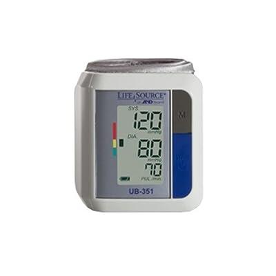 Lifesource UB-351 Automatic Wrist Blood Pressure Monitor-2