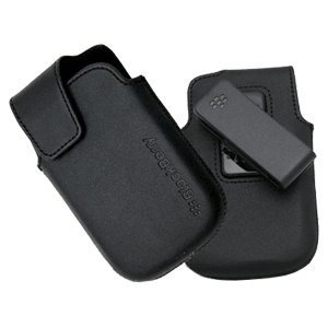 BlackBerry 9900, 9930 Bold HDW-38842-001 Leather Pouch with Swivel Belt Clip