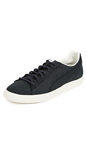 Puma Velg Menns Clyde Frostet Sneaker Svart / Svart