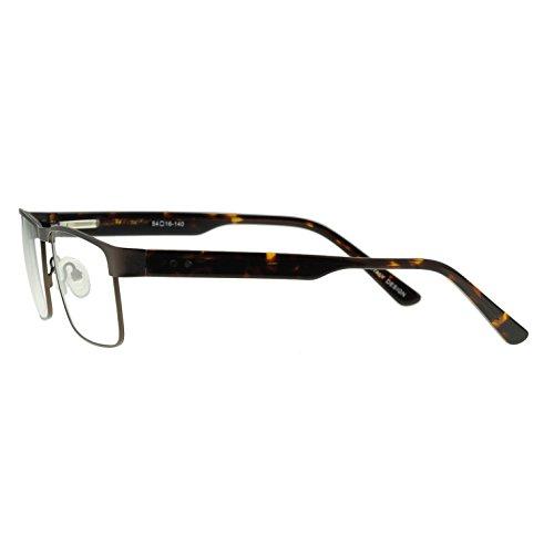 OCCI CHIARI - Montures de lunettes - Homme Taille Unique Brown Frame/ Demi Temples