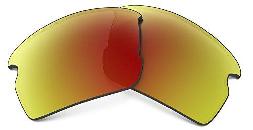 (Oakley Mens 101-355-016 Flak 2.0 Replacement Lense Kit, Ruby Iridium)