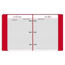 UPC 038576191242, Standard Diary. Looseleaf Daily Reminder Refill, Ruled One Day/Page, 5-3/4x8-1/4