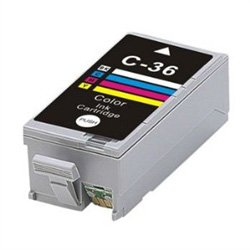 Ink Now Premium Compatible Canon COLOR Ink Jet CLI-36 C for PIXMA iP100, PIXMA mini260, 320 printers -