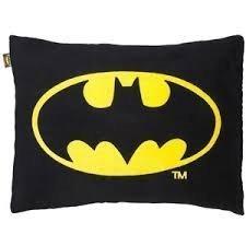 Batman Bat Signal Symbol Large Plush Cuddle Pillow (Batman Plush Pillow)