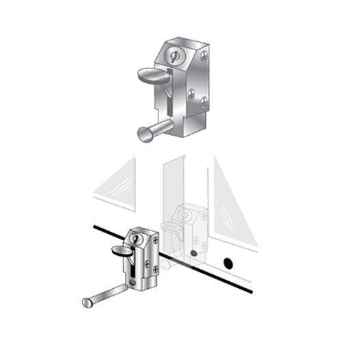 EPL-105-AL Keyed Lever Pro-Lok Patio Door Lock Aluminum Finish