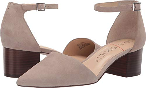SOLE / SOCIETY Women's Katarina Taupe Kid Suede 8 M US