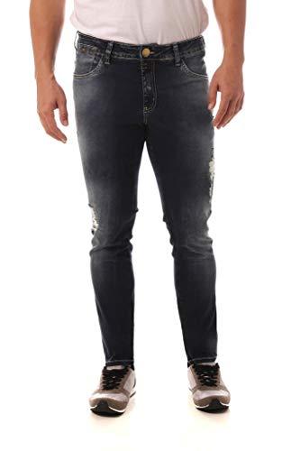 Calça Jeans Denuncia Skinny Azul 48