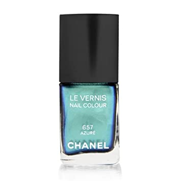 Amazon.com : Chanel Le Vernis Nail Colour 657 Azure : Nail Polish ...