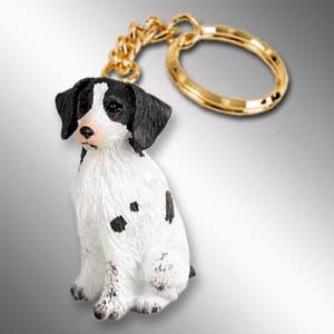 - Conversation Concepts Brittany Liver & White Spaniel Key Chain (Set of 3)
