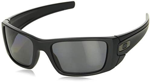 - Oakley Men's FuelCell Polarized Sunglasses, Matte Black Frame/Grey Polarized Lens