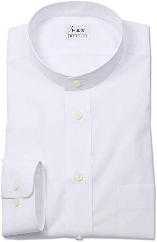 ワイシャツ 軽井沢シャツ [A10KZZS02]スタンドカラー らくらくオーダー受注生産商品