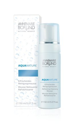 Borlind AnneMarie Borlind, Aqua Nature, Refreshing Cleansing Mousse, 5.07 fl oz (150 ml) - 5.07 oz BOR-00802
