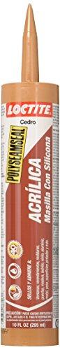 LOCTITE 1507594 828244 Acrylic Cedar Caulk