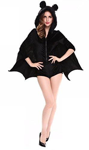 CohacoWomen's Cozy Bat Costume (XL) (Easy Comfortable Costumes)
