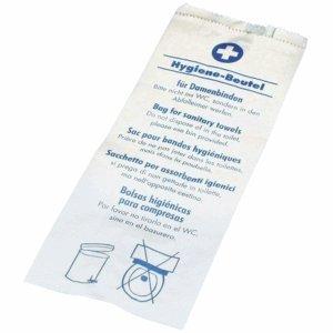 PAPSTAR Hygienebeutel Papier mit Druck VE=200 St/ück