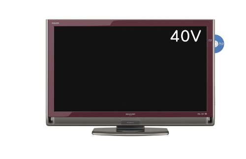 シャープ 40V型 液晶 テレビ AQUOS LC-40DX3-R フルハイビジョン ブルーレイレコーダー内蔵  2010年モデル B003JY77ZK
