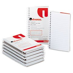 ** Wirebound Memo Book, Narrow Rule, 5 x 3, White, 12 50-Sheet (Wirebound Rule)