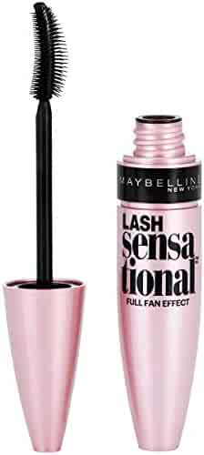 Maybelline Lash Sensational Washable Mascara, Blackest Black, 0.32 fl. oz.